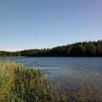 Ein herrlicher See, fast nur für uns...